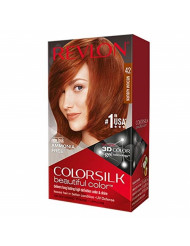 Colorsilk Permanent Hair Color, Medium Auburn (42/4R)