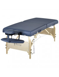 "Master Massage 30"" Coronado Therma Top LX Portable Massage Table Package, Royal Blue"