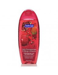 Softsoap Moisturizing Body Wash, Pomegranate & Mango, 18oz, 6pk