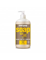Everyone 3-in-1 Soap, Coconut and Lemon, 32 Fl Oz (Pack of 1)