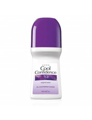 Avon Cool Confidence Original Scent Roll-on Anti-perspirant Deodorant Bonus Size 2.6 Fl. Oz.