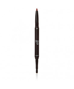 e.l.f. Lip Liner and Blending Brush, Wine, 0.1 Ounce