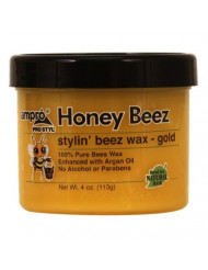 Ampro Honey Beez Stylin' Beez Wax Gold 4 Oz