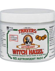 Thayer Witch Hazel Pads Orgnl