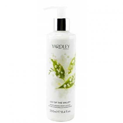 Yardley of London Luxury Body Wash for Women, Lily of the Valley, 250 ml