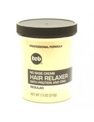 TCB No Base Hair Relaxer Creme, Regular, 7.5 Ounce