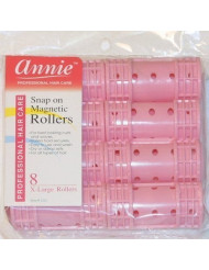 NEWHair Rollers PROFESSIONAL SNAP ON MAGNETIC (X LARGE) All Sizes - Set Hair Dry or damp by Annie