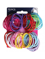 Goody Girls Ouchless Elastics, 2 mm, 72 Count
