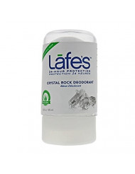 Lafe's Crystal Rock Deodorant, 4.25 Ounce (Packaging May Vary)