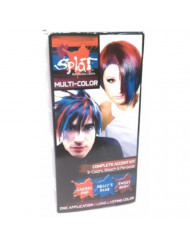 Splat 3 Color Accent Kit Cherry Pop Kelly Blue Sweet Ruby Extreme Shocking Expressive Long Lasting Semi Permanent Hair Color (1 Box)