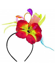 "Amscan Hibiscus Party Fashionista Headband, 11"" x 8.5"""