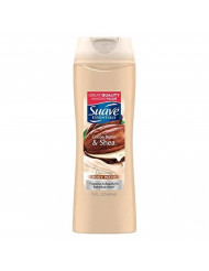Suave Body Wash, Cocoa and Shea Butter 12 Ounces (Pack of 2)