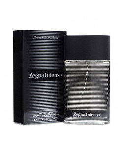 Ermenegildo Zegna Intenso Eau De Toilette Spray for Men, 3.4 Ounce