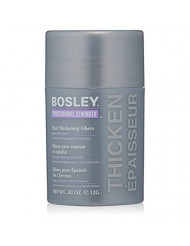 Bosley Professional Strength Hair Thickening Fibers, Light Brown, 0.42 Ounce