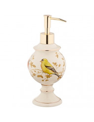 Avanti Gilded Birds Lotion Dispenser