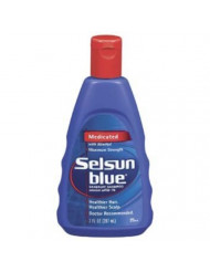 Selson Blue Maximum Strength Dandruff Shampoo 7 oz (Pack of 6)