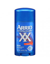 ARRID XX Anti-Perspirant Deodorant Solid Regular 2.6 oz (Pack of 3)