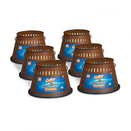 Cutter Citro Guard Candle, Triple Wick, 20-Ounce, 6-Pack