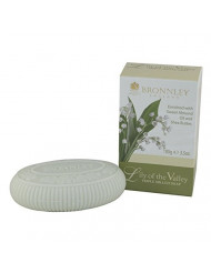 Bronnley England Triple Milled Soaps for Women, Lily of The Valley, 3.5 Ounce