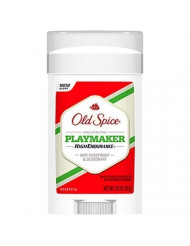 Old Spice High Endurance Invisible Solid Playmaker 3 oz. (Pack of 6)