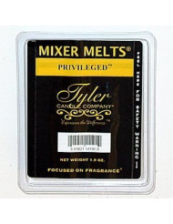 1 X PRIVILEGED Fragrance Scented Wax Mixer Melts by Tyler Candles