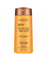 L'Oreal Paris Sublime Bronze Self-Tanning Lotion Medium 5 fl. oz.