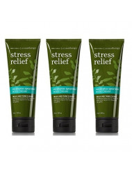 Bath and Body Works Aromatherapy Stress Relief Eucalyptus Spearmint Body Cream 3 Pack