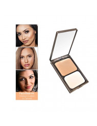 Face Base Oil-Free Powder Foundation with Mineral Pigments by VASANTI - Loose Finishing Powder - Paraben-Free, Never Tested on Animals - Get Glowing Skin Now! (V4 - Medium Golden/Tanned)