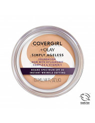 Covergirl & Olay Simply Ageless Instant Wrinkle-Defying Foundation, Soft Honey