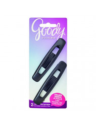 Goody Ouchless Flex Large Autoclasp Hair Barrettes, 2 Count
