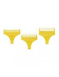 Wahl Professional Set of 3 T Blade Trimmer Guides #3059 - Designed for Specific Wahl, Sterling, and 5-Star Trimmers
