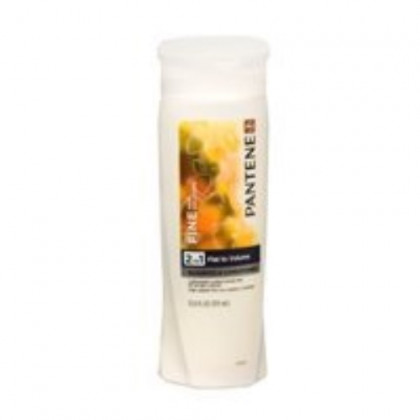 Pantene Pro-V 2 in 1 Shampoo & Conditioner, Sheer Volume with Collagen, 12.6 Ounces each (Value Pack of 2)