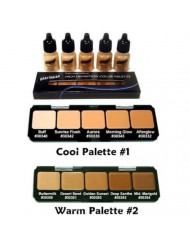 Graftobian HD Sampler Pack - Creme and Airbrush Foundation (Warm #2)