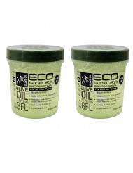 Eco Styling Gel with Olive Oil 16 oz. (Pack of 2)