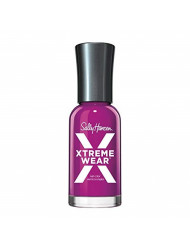 Sally Hansen Hard as Nails Xtreme Wear, Pep-Plum, 0.4 Fl Oz,Pack of 1