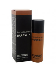bareMinerals Pure Brightening Serum SPF20 All Skin Types Bare Walnut 18 Foundation for Women, 1 Ounce