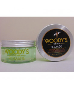Woody's Pomade for Men, Pomade, 3.4 Ounce (Pack of 2)