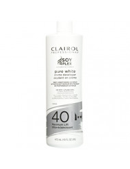 Clairol Pure White 40 Creme Developer Maximum Lift 16oz, 16 Oz