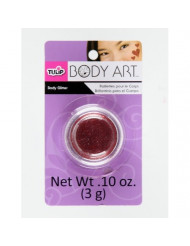 Tulip Body Art Glitter Open Stock- Red