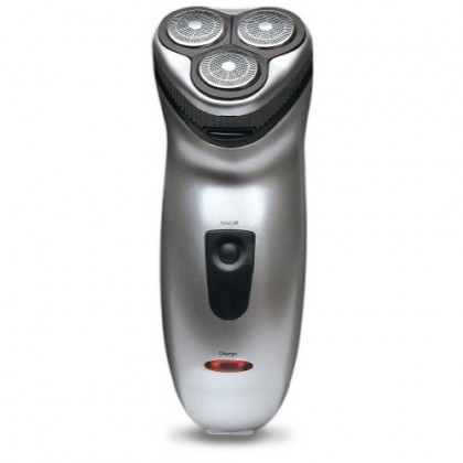 Black Series 3 Head Rechargeable Electric Shaver-One Size