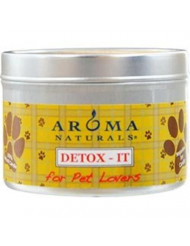 Detoxit Aromatherapy 2.5X1.75 Inch Soy/Beeswax Blend Aromatherapy Candle For Pet Lovers