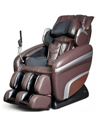 OS-7200 H Heated Reclining Massage Chair Upholstery: Brown
