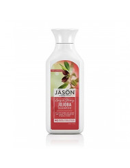 Jason Pure Natural Shampoo Long and Strong Jojoba - 16 fl oz, Set of 2