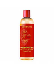 Creme of Nature Moisture & Shine Shampoo With Argan Oil From Morocco, 12 oz (Pack of 3)