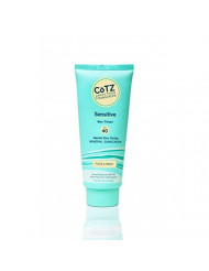 Cotz Spf 40 UVB/UVA Sunscreen for Sensitive Skin, 3.5 Ounce (Packaging may vary)