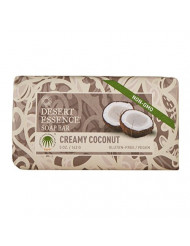 Desert Essence Soap Bar Creamy Coconut - 5 oz