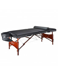 Master Massage 30'' Inches Promaster LX Portable Massage Table Package, Black