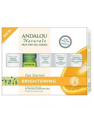 Andalou Naturals Get Started Brightening 5-Piece Kit - 1 Kit