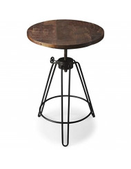 BUTLER 2046025 TRENTON METAL & WOOD ACCENT TABLE
