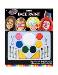 Amscan Party Perfect Birthday Party Body & Face Paint Multi Pack (1 Piece), Multi Color, 12 x 10""